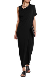 Rick Owens Lilies draped jersey dress