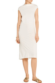 Rick Owens Marella open-back cotton-jersey dress
