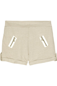 Lounge Lover Lazy linen-cotton shorts