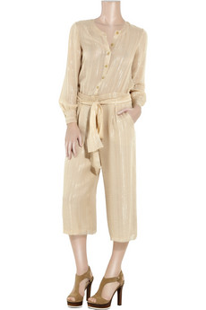 Thakoon Lurex%20striped%20jumpsuit