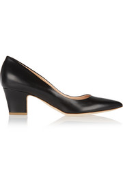 Pierre leather pumps