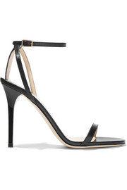 Jimmy Choo Minny leather sandals
