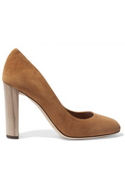 Jimmy Choo Laria suede pumps