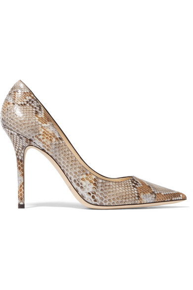 outlet new styles sale looking for Jimmy Choo Abel Python Pumps very cheap for sale Op8WxPkek
