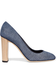 Jimmy Choo Laria denim pumps