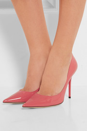 Jimmy Choo Abel patent-leather pumps