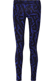 Leg-A-See printed stretch-cotton jersey leggings
