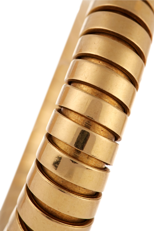 Fred Leighton 20th-Century Bulgari 18-karat gold hoop earrings