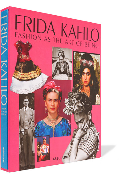 The Fashion Book Hardcover : Assouline frida kahlo fashion as the art of being