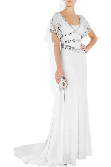 Temperley London   Embellished silk-crepe gown   NET-A-PORTER.COM