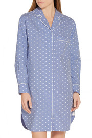 Poppy cotton nightshirt