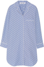 Olivia von Halle Poppy cotton nightshirt