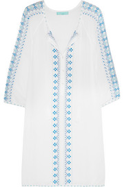 Sophia embroidered voile kaftan