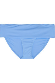 Brussels fold-over bikini briefs