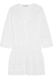 Kylie embroidered georgette dress