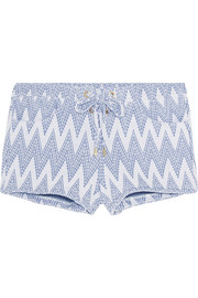 Shelly jacquard-knit shorts