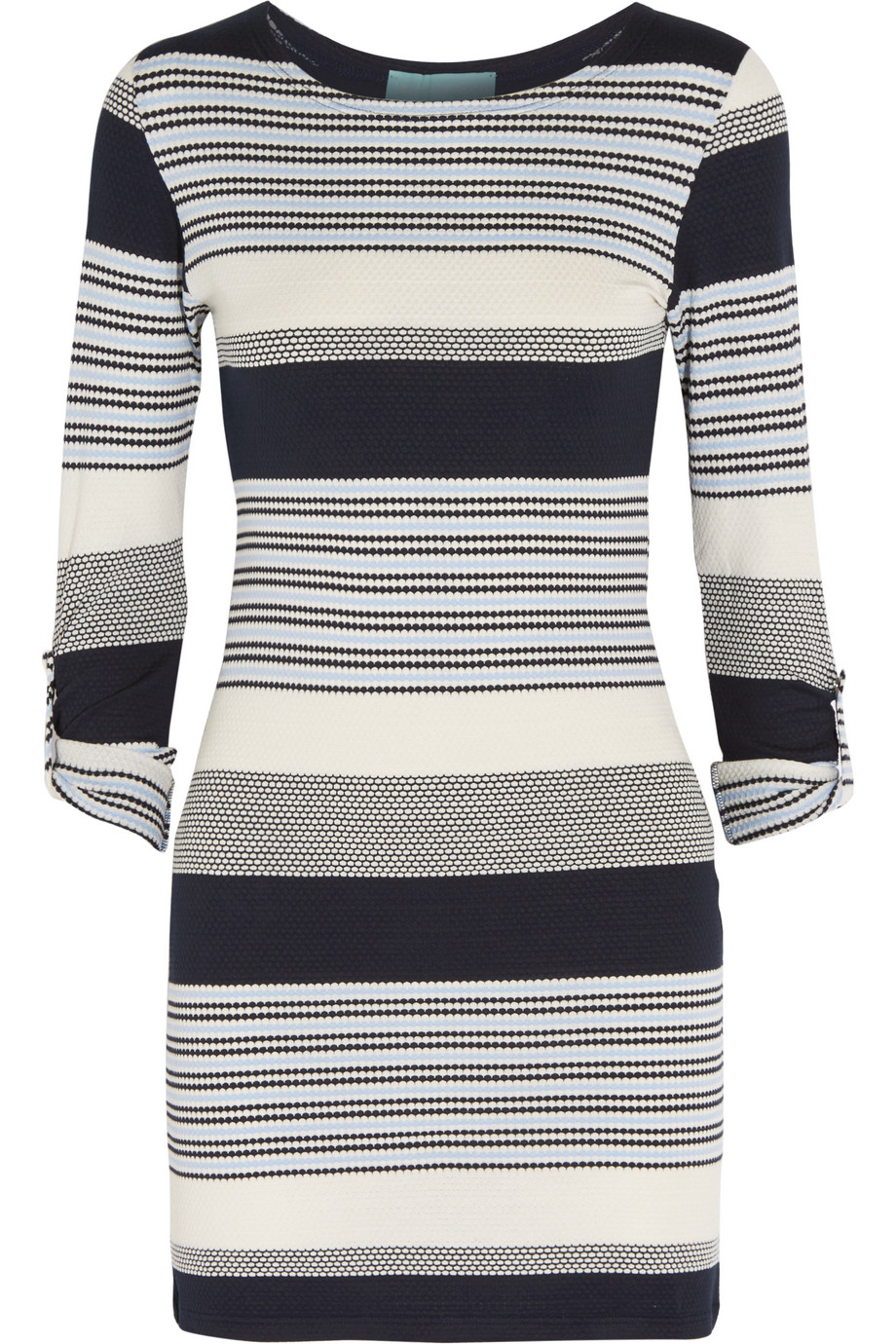 Melissa Odabash Maddie Stretch-Knit Dress, Navy, Women's