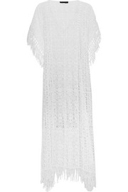 + Julien Macdonald Artemis crocheted cotton kaftan