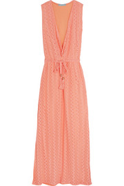 Melissa crocheted maxi dress