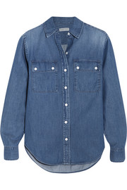 Camp denim shirt
