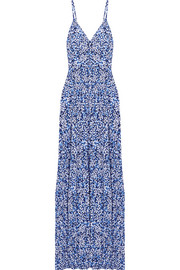 Chiltington floral-print jersey maxi dress