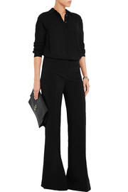 MICHAEL Michael Kors Stretch-crepe wide-leg pants