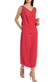 Vivienne Westwood Anglomania Ridge cutout crepe dress