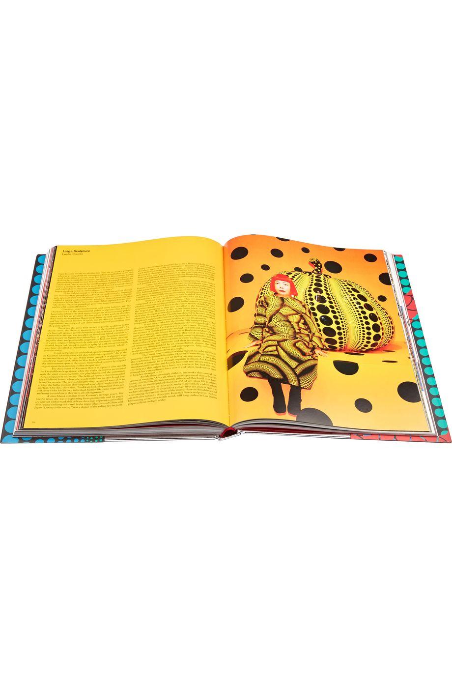 Rizzoli 《Yayoi Kusama》,硬皮精装本