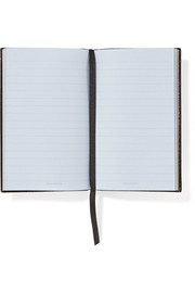 Smythson Top Secret textured-leather notebook
