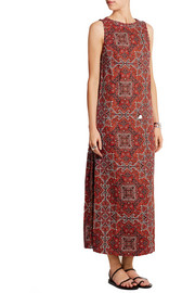Zimmermann Konya printed linen maxi dress