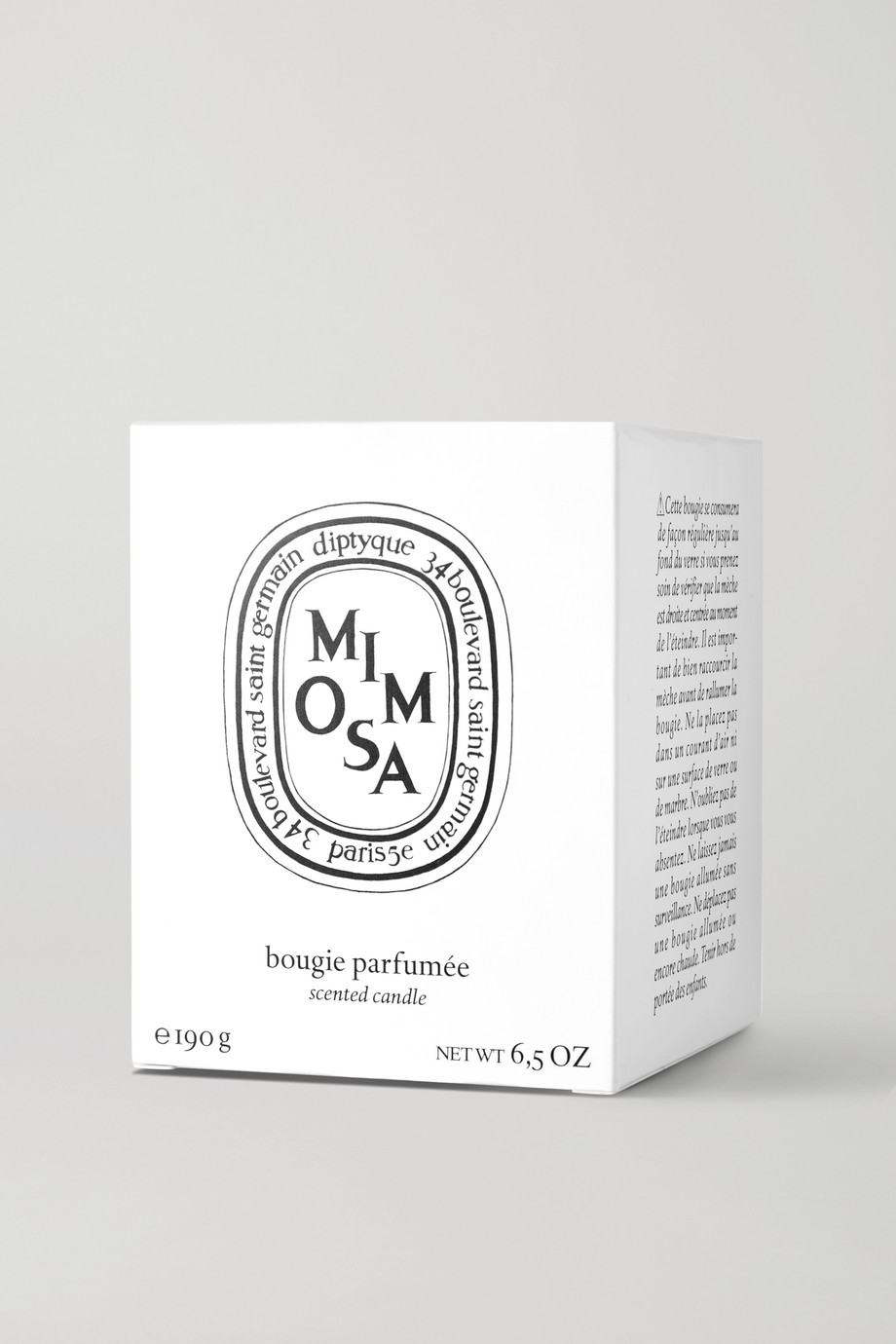 Diptyque Mimosa scented candle, 190g