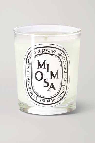 DIPTYQUE Mimosa Scented Candle, 190G in White