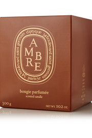 Ambre scented candle, 300g