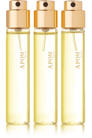 Eau de Parfum Travel Set - APOM Femme, 3 x 11ml