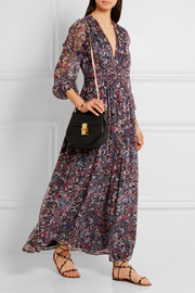 IRO Kimie printed silk-chiffon maxi dress
