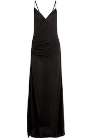 Icons ruched modal maxi dress