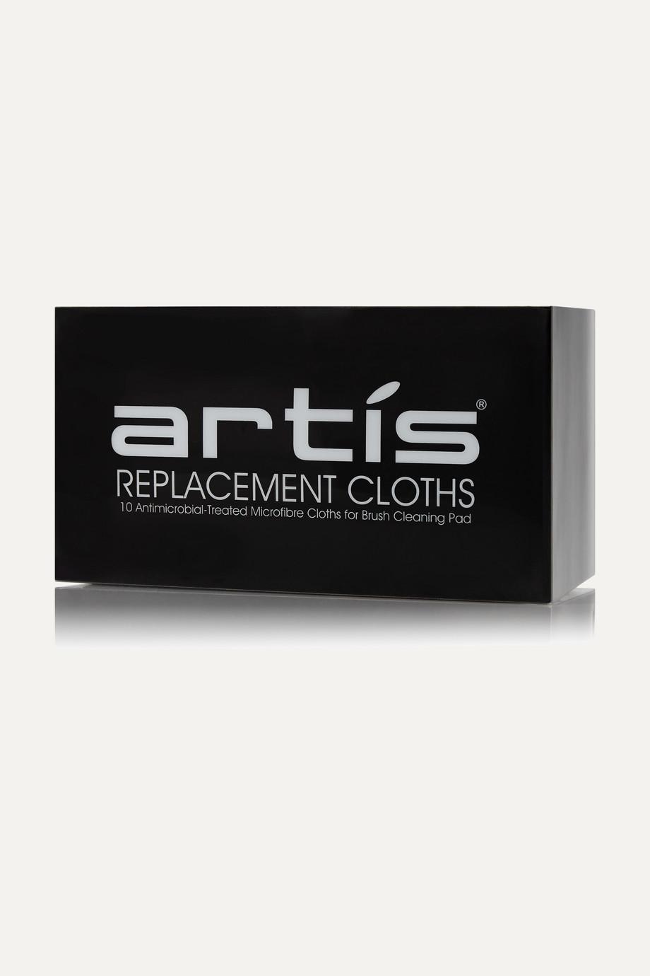 Artis Brush Replacement Microfibre Cloths x 10