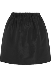 Faille mini skirt