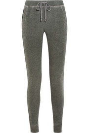 Splendid Mesa cotton-terry track pants