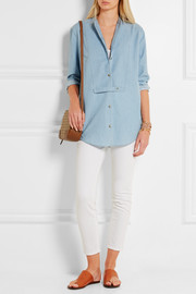 Equipment Mandel cotton-chambray shirt