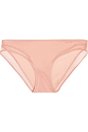 Naked Touch tulle-trimmed stretch-satin briefs