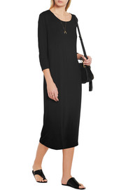 Raquel Allegra Stretch modal and silk-blend jersey dress