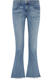Current/Elliott The Flip Flop low-rise flared jeans