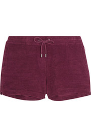 Carlita cotton-terry shorts