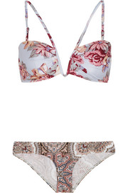 Zimmermann Epoque printed bikini