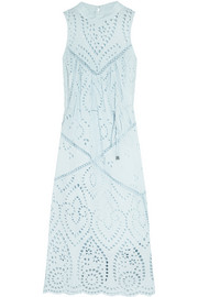 Epoque broderie anglaise cotton midi dress