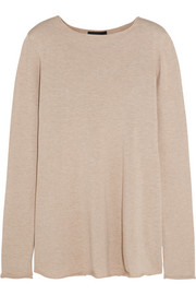 Abelle silk and cotton-blend sweater