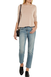 The Row Abelle silk and cotton-blend sweater