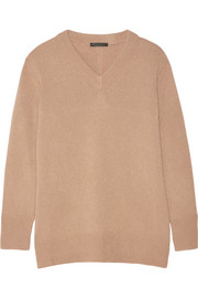The Row Manta cashmere and silk-blend sweater