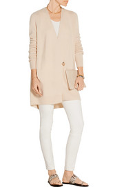 The Row Eleset cashmere and silk-blend wrap cardigan